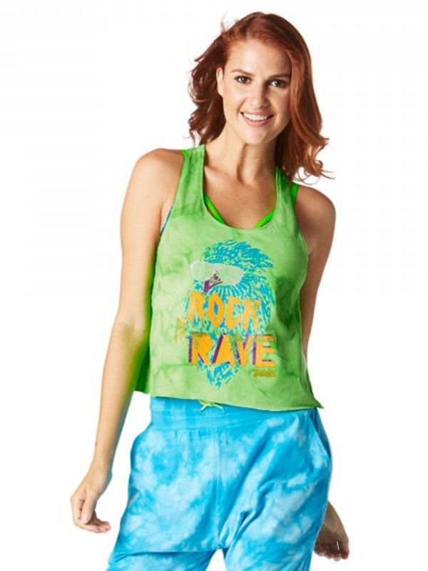 Rock N Rave Loose Cropped Tank